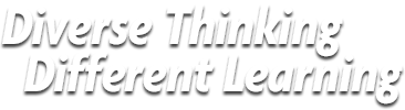 Diverse Thinking, Different Learning Logo.