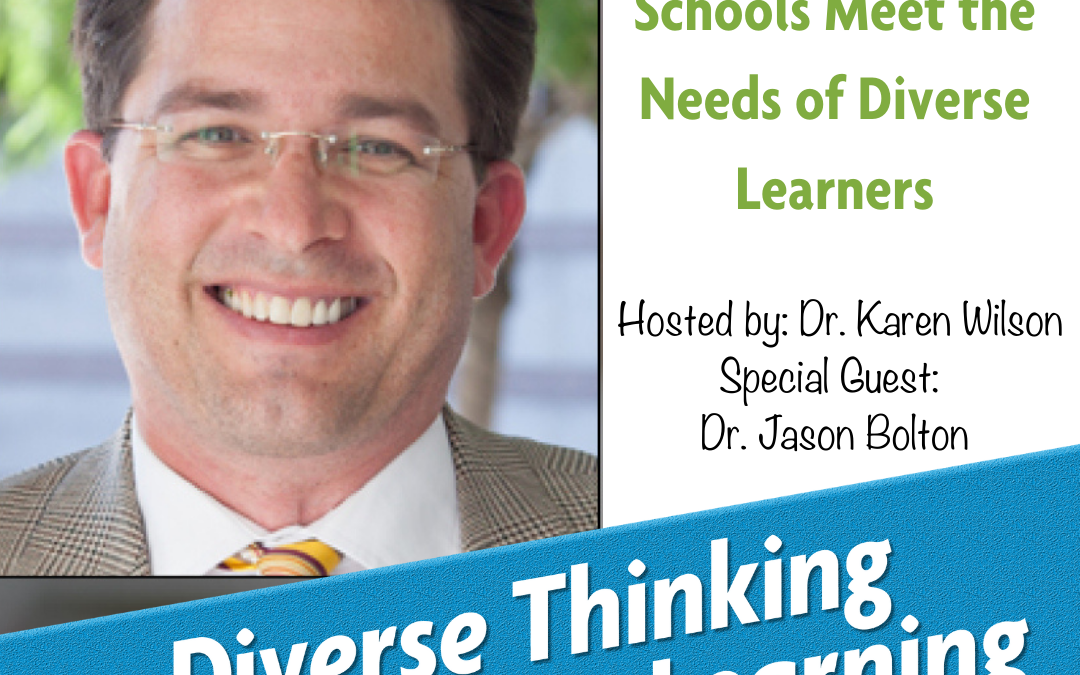 Ep. 18: How Non-Public Schools Meet the Needs of Diverse Learners with Dr. Jason Bolton