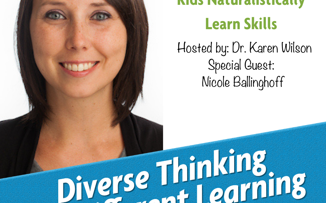 Ep. 46: How ABA Can Help Kids Naturalistically Learn Skills with Nicole Ballinghoff